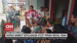 VIDEO: Warga Sambut Kepulangan Atlet Peraih Emas