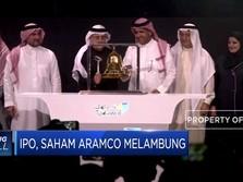 IPO, Saham Aramco Langsung Melambung 10%