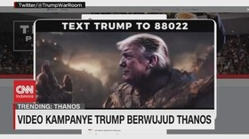 VIDEO: Trending Video Kampanye Trump Berwujud Thanos