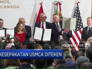 Perjanjian Pengganti NAFTA Resmi Diteken!