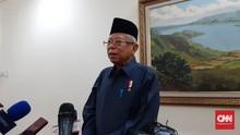 Ma'ruf Amin Targetkan Cetak 1 Juta Santri Pebisnis pada 2023