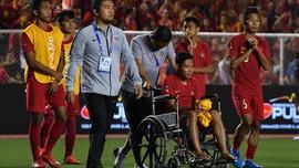 Cedera Parah, Evan Dimas Yakin Pemain Vietnam Tak Sengaja