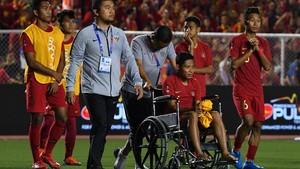 SEA Games: Van Hau Minta Maaf Buat Evan Dimas Cedera Parah