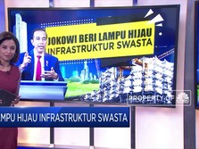 Jokowi Beri Lampu Hijau Infastruktur Swasta