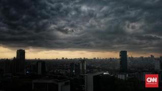 Hujan Merata Diprediksi Guyur Jakarta Sepanjang Hari
