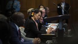 Suu Kyi Desak PBB Setop Kasus Pembantaian Rohingya