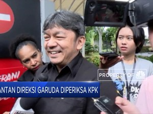 Jajaran Mantan Direksi dan Karyawan Garuda Diperiksa KPK