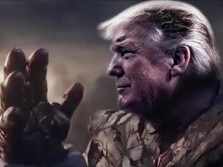 Trump Jadi Thanos, Ini Aksinya 'Bumi Hanguskan' DPR AS