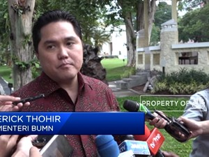 Rombak PLN, Erick Thohir Sebut Ada 3 Kandidat Dirut