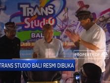Chairul Tanjung Resmikan Trans Studio Bali Hari Ini