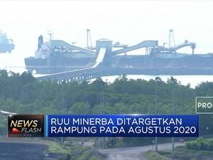 RUU Minerba Ditargetkan Rampung Pada Agustus 2020