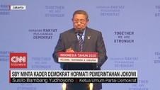 VIDEO: SBY Minta Kader Demokrat Hormati Pemerintahan Jokowi