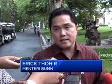 Erick Thohir Pecat 5 Direksi Garuda Karena Sayang, Maksudnya?