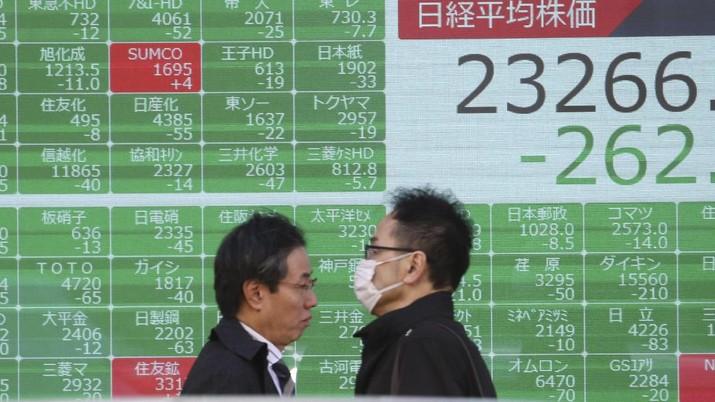 Bikin Pening, Bursa Saham Asia Kok Turun Terus Sih!