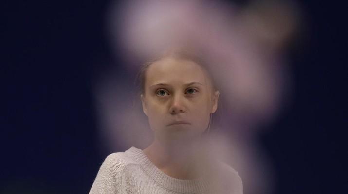 Deretan Potret TIME's Person of the Year 2019 Greta Thunberg