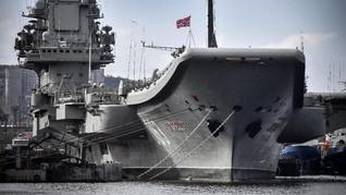 Prajurit AL Rusia Tewas dalam Kebakaran Kapal Perang