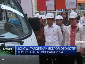 Jokowi Dorong Ekspor Otomotif Demi Tekan CAD