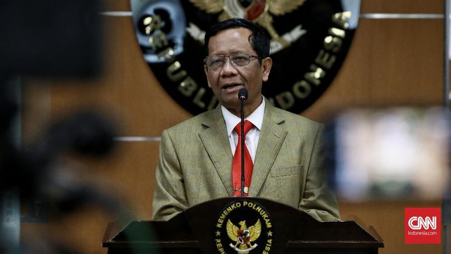 Mahfud Klarifikasi Pernyataan 'Dokumen Sampah' Veronica Koman