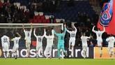 PSG menang 5-0 atas Galatasaray di Stadion Parc des Princess. Les Parisiens menjadi pemimpin Grup A dengan 16 poin.(AP Photo/Michel Euler)