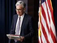 Walau Ekonomi AS Minus, The Fed Tetap Tahan Bunga Acuan