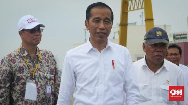 Jokowi Ingin Pembangunan Tol Jangan Tunggu Untung