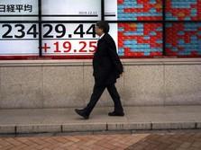 Aura Damai Dagang Terasa, Bursa Saham Asia Menghijau