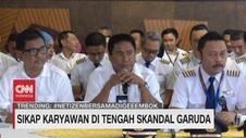 VIDEO: Sikap Karyawan di Tengah Skandal Garuda