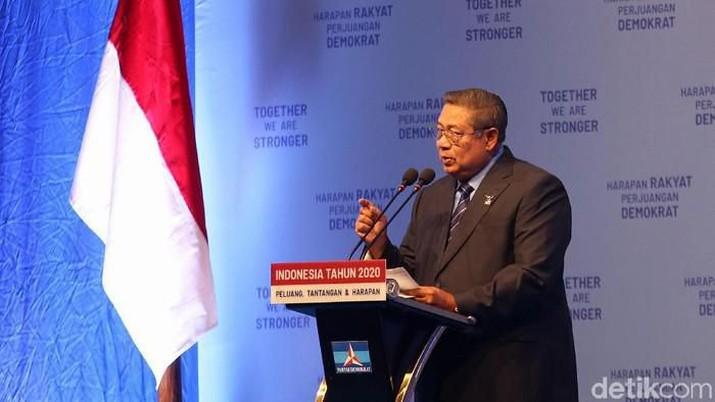 SBY Sebut Erick & SMI Mau Dijatuhkan Lewat Pansus Jiwasraya