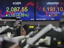 AS-Iran Kian Memanas, Bursa Saham Asia Berguguran