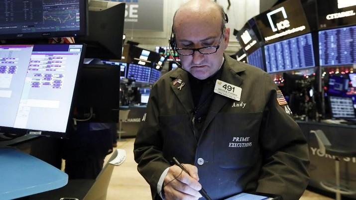 Bursa AS terindikasi dibuka ke zona merah pada perdagangan Kamis (26/3/2020), karena investor cenderung bersiap keluar dari pasar