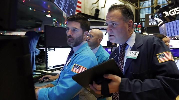 Hari pertama perdagangan 2020, Wall Street kembali rekor