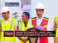 Jokowi Resmikan Jalan Tol Jakarta-Cikampek II Elevated