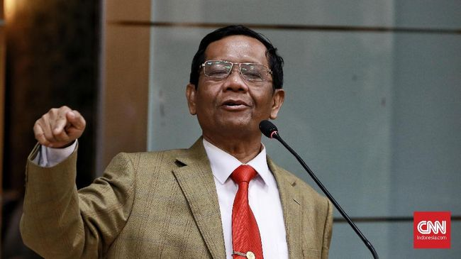 Mahfud MD Doakan Tito dan Khofifah Jadi Presiden-Wapres 2024