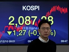 Bursa Asia Mayoritas Cerah, Indeks KOSPI Sendirian Loyo Lagi