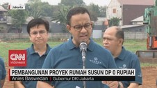 VIDEO: Anies Groundbreaking Rumah DP 0 Rupiah Cilangkap
