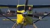 Perusahaan penerbangan Harbour Air harus menunggu setidaknya dua tahun sebelum dapat mulai menyetrum salah satu armadanya. Haruor Air punya lebih dari 40 pesawat amfibi. (Jonathan Hayward/The Canadian Press via AP)