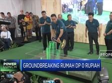Anies Groundbreaking Rumah DP 0 Rupiah di Cilangkap