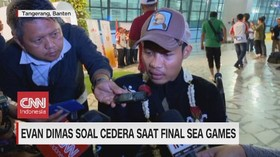 VIDEO: Evan Dimas Soal Cedera Saat Final Sea Games