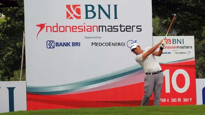 Para Golfer Beraksi di Tournament BNI Indonesian Masters 2019