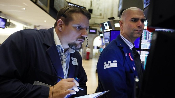 Kesepakatan Dagang Diteken, Dow Jones Akan 'Loncat' 142 Poin
