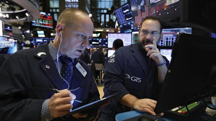 Sempat Merah di Futures, Reli Dow Jones Lanjut di Pembukaan