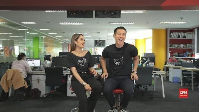 VIDEO: Cinta Laura-Herjunot Ali Jawab Soal Karier hingga Film