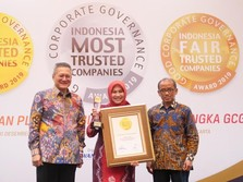 BRI Agro Raih Indonesia Trusted Companies Awards 2019