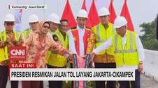 VIDEO: Presiden Resmikan Jalan Tol Layang Jakarta-Cikampek