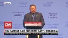 VIDEO: SBY Sambut Baik Program Kartu Prakerja