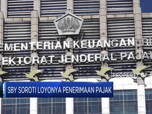 SBY Soroti Loyonya Penerimaan Pajak