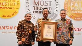 Bukit Asam Sabet Dua Penghargaan sebagai Perusahaan Terbaik