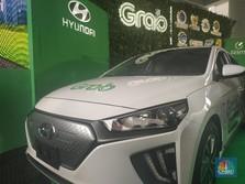 20 Unit Mobil Listrik Grab-Hyundai Mengaspal di Awal 2020