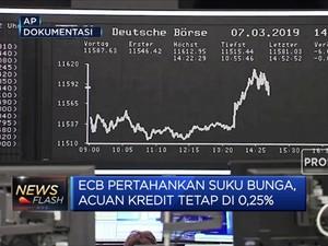 Cegah Gonjang-Ganjing Akhir Tahun, Suku Bunga ECB Bertahan