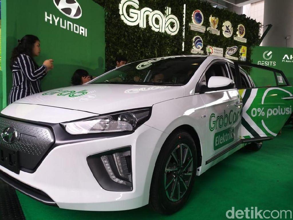 Lanjut Ridzki menjelaskan, akan ada 20 unit motor listrik Honda PCX dan Gesits, dan 20 unit Hyundai Ioniq, yang akan dilibatkan dalam kerja sama ini. Foto: Luthfi Anshori/detikOto